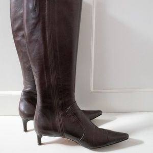Vintage Isaac Mizrahi Black Tall Boots